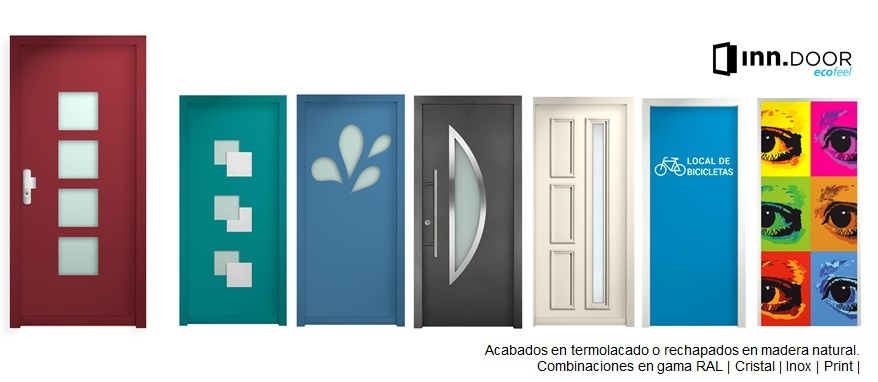 Puertas de seguridad y eficiencia energética INN ecofeel