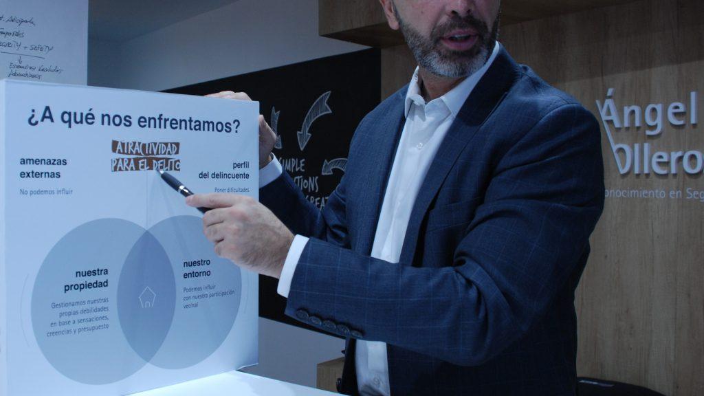Reduce el riesgo de robo en hogar con Ángel Olleros