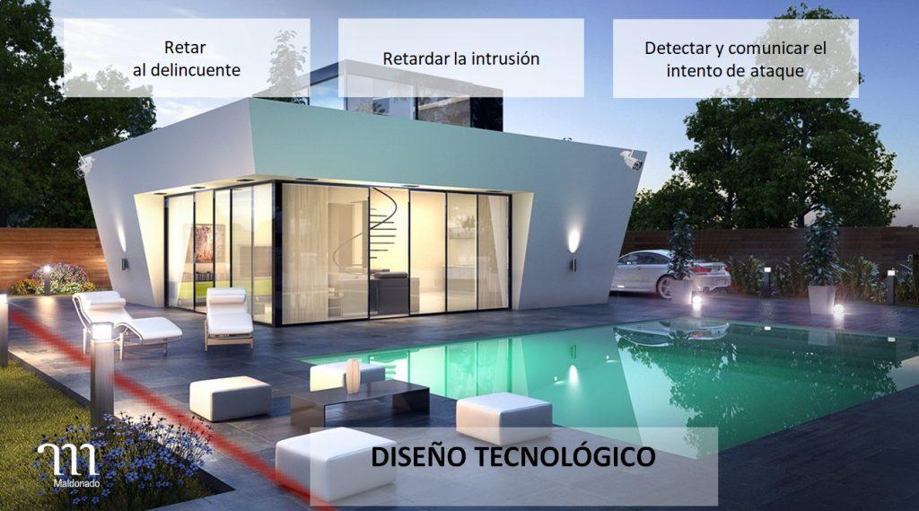 Seguridad por diseño tecnológico